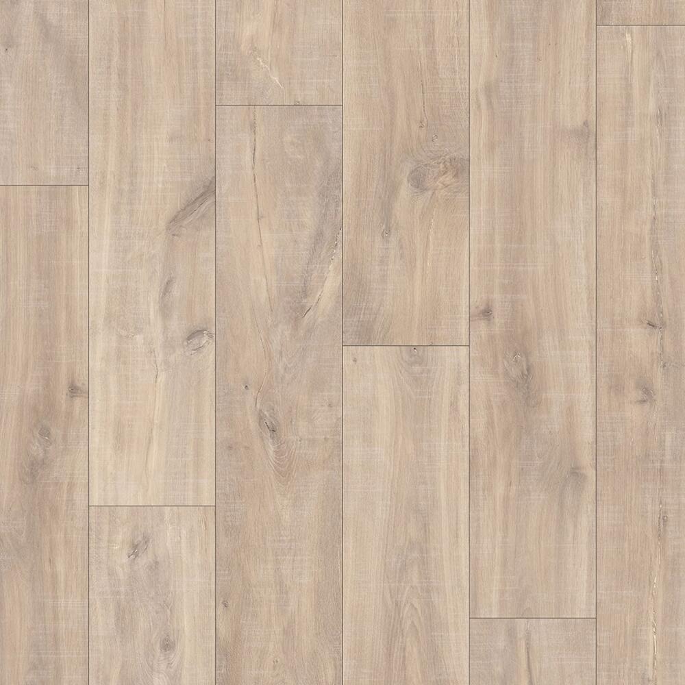 Classic - Laminate Flooring - Havanna Oak Natural with Saw Cuts