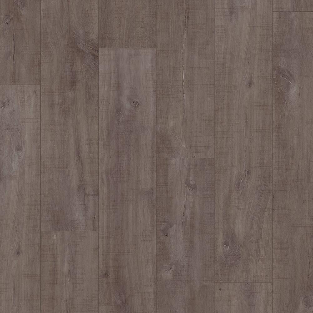 Classic - Laminate Flooring - Havanna Oak Dark with Saw Cuts