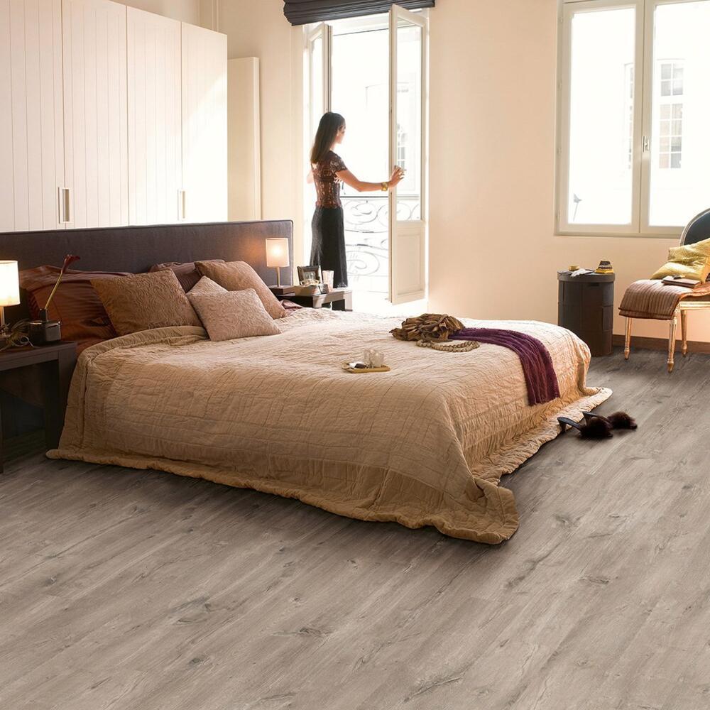 Eligna Wide - Laminate flooring - Caribbean Oak Grey