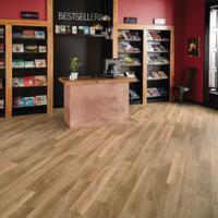 Knight Tile - Vinyl Flooring - Pale Limed Oak