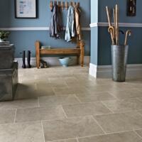 Karndean Knight Tile - Vinyl Flooring - Stone Portland Stone - Portland Stone