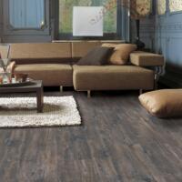 Eligna Wide - Laminate flooring - Caribbean Oak Dark