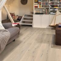 Compact - Timber Flooring - Creamy White Oak Extra Matt