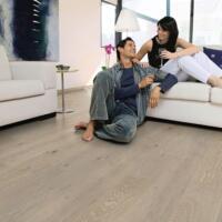 Palazzo - Timber Flooring - Limed Grey Oak Matt, Planks