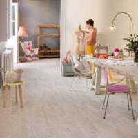 Variano - Timber Floors - Painted White Oak Extra Matt, Multi-strip